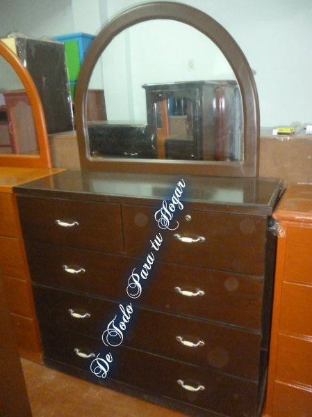 C moda elegante con espejo s 355 00 en mercado libre for Comoda con espejo ikea