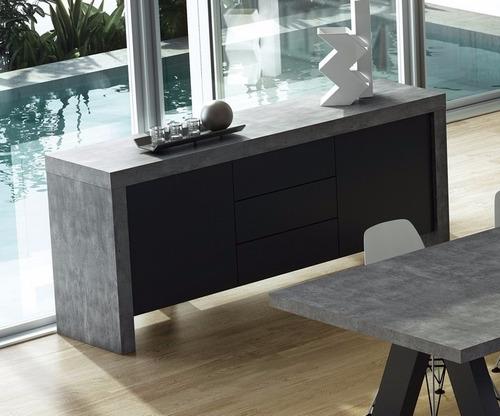 cómoda mueble cajonera aparador rack living moderno nuevo