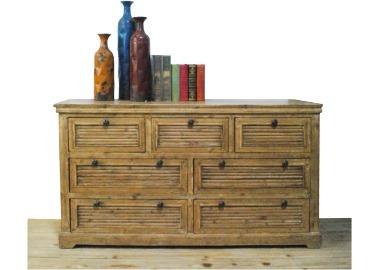 comoda mueble en madera maciza living estar dormitorio