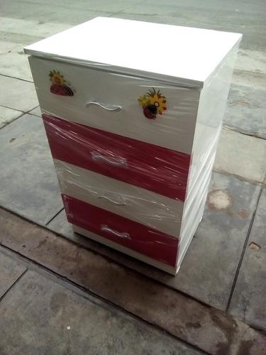 cómoda para niñas de melamina ( nuevo )