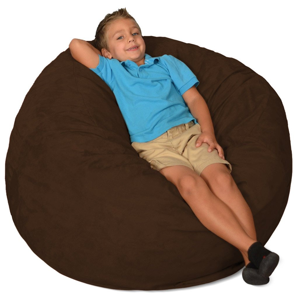 Super Comoda Saco De 3 Pies Memory Foam Bean Bag Chair Chocola Gmtry Best Dining Table And Chair Ideas Images Gmtryco