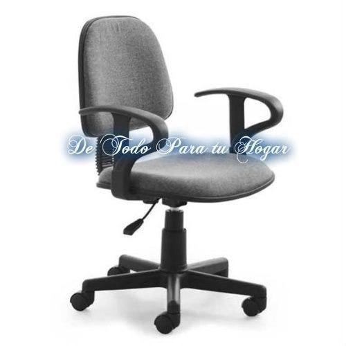 comoda silla giratoria para oficina s 235 00 en mercado