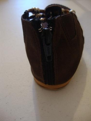 cómodas sandalias  cafè oscuro/cafè claro envío gratis