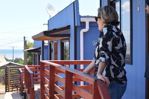 cómodas y lindas cabañas equipadas en ritoque cerca de playa