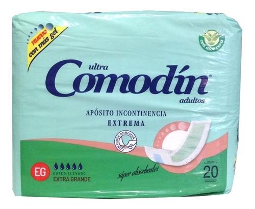 comodin aposito de incontinencia extrema x 60 unidades