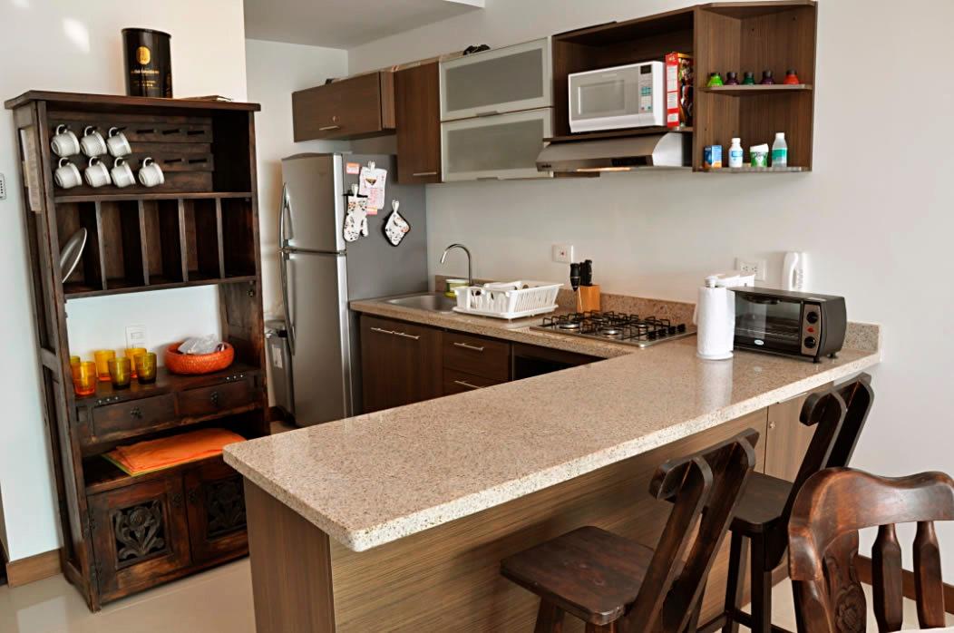 cómodo apartamento en la zona norte