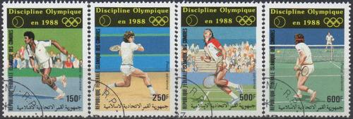 comores - olimpíadas - seul 1988 - s/completa