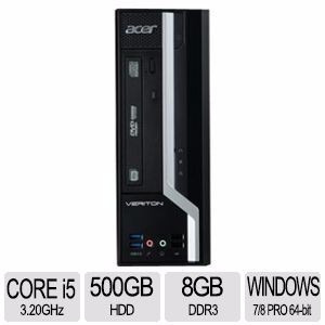 comp acer vx6630g ci5-4570 4gb/500dd/dvd/tcl/mouse w8 pro
