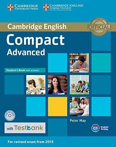 compact advanced - student s book with key / cd / testbank