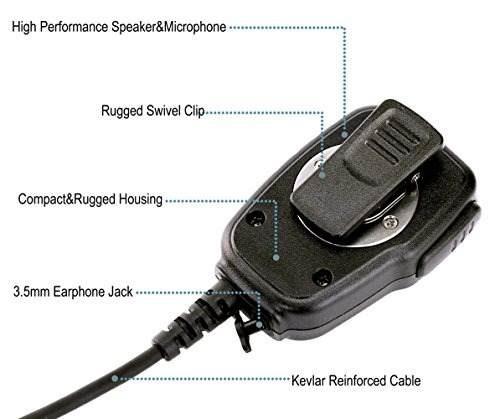 NEW ICOM HM-186LS Compact Speaker Microphone for ID-31A ID-31E ID-51A ID-51E