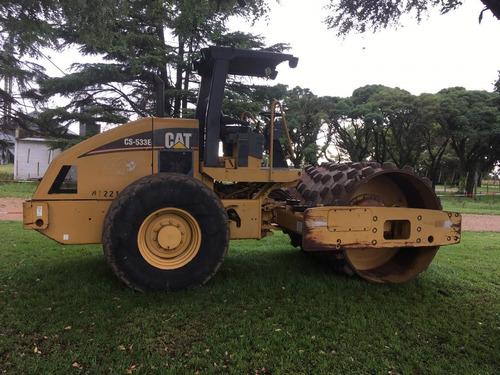 compactador caterpillar liso y pata motor nuevo maquinasjm