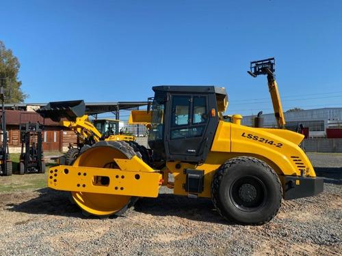compactador de 14 toneladas sinomach lss214-2 -cummins 130hp