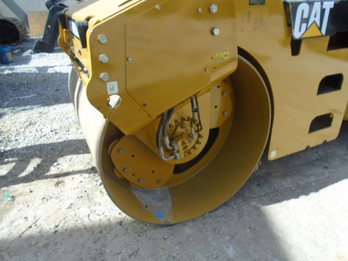 compactador de asfalto cat rodillo doble cb534d año 2011