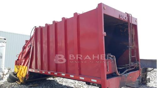 compactador de basura leach basurero