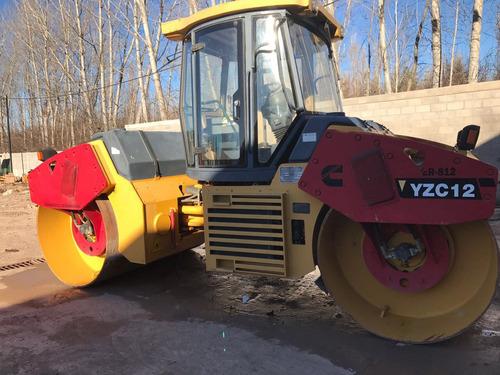 compactador doble liso liangong ycz12 año 2011 con 120 horas