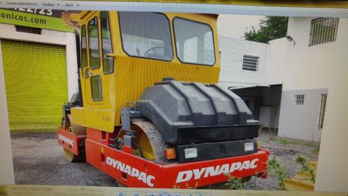 compactador dynapac cc421  doble tambor  liso