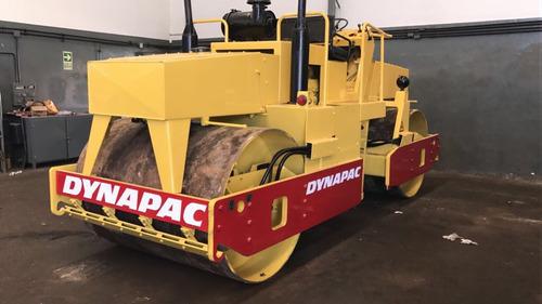 compactador dynapac cc43 doble liso