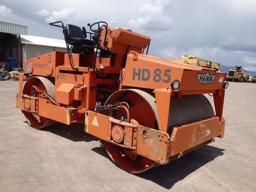 compactador hamm hd85c doble rodillo liso folio 9279