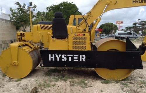 compactador hyster estatico c350d tandem 640