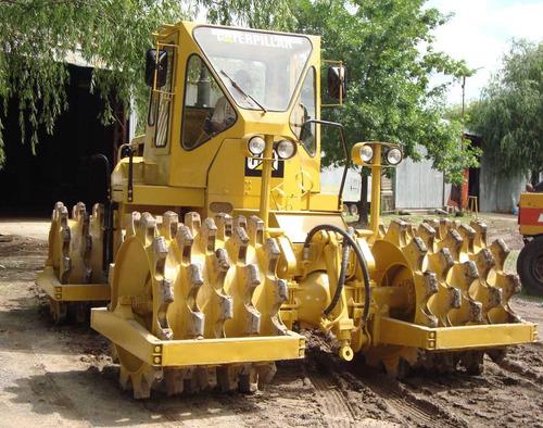 compactador pata de cabra caterpillar 815