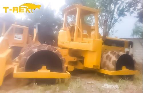 compactador pata de cabra caterpillar