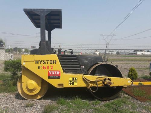 compactador tandem hyster c617 año 2000