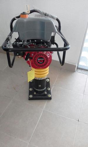 compactador tipo sapo honda gx160 5.5cv novo