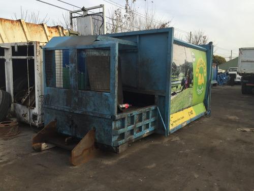 compactadora estacionaria para roll off