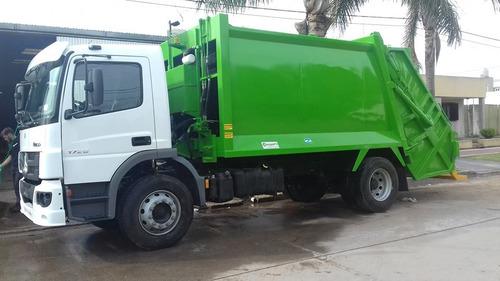 compactadores de basura de 17 y 21 m3