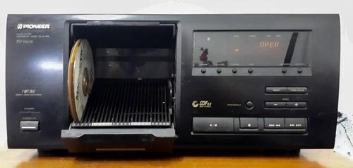 compactera reproductor de cd pioneer pd f606 25cd