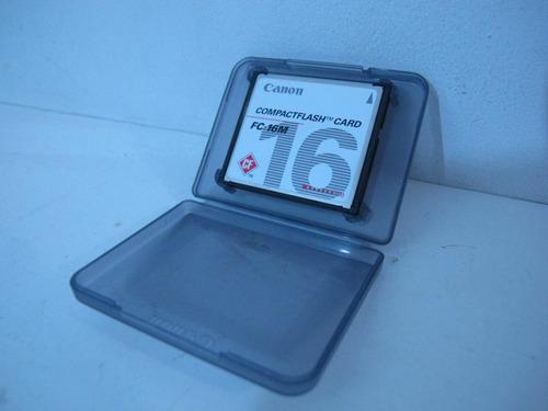 compactflash card 16 mb canon