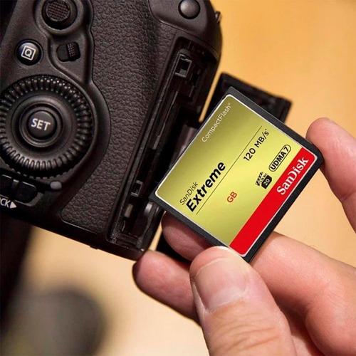 compactflash sandisk 128gb tarjeta memoria