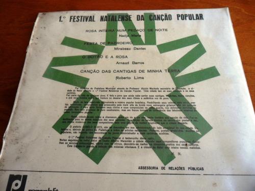 compacto - 1º festival natalense de canção popular - 1968