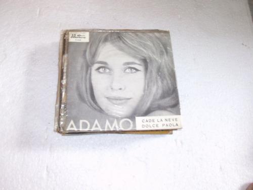 compacto adamo,1965 cade la neve, dolce paola