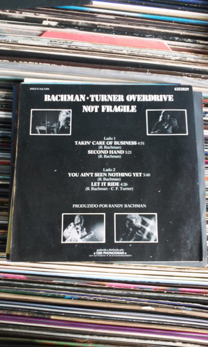 compacto bachman turner overdrive not fragile