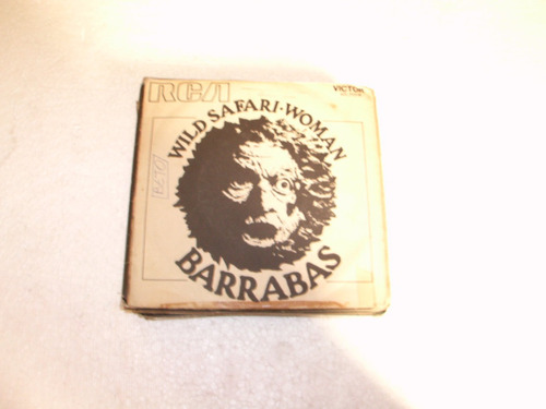 compacto barrabas - 1972 - wild safari - woman