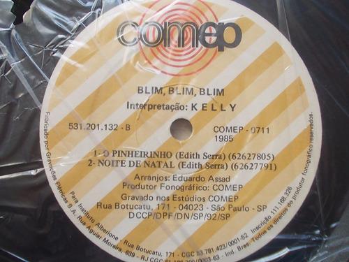 compacto blim, blim, blim com presépio para montar 1985