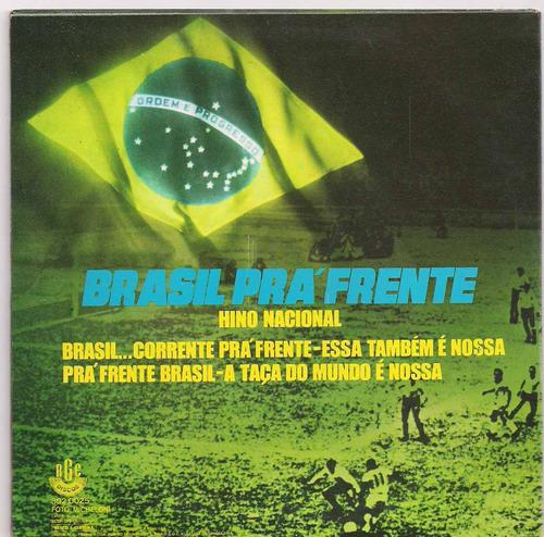 compacto - brasil pra frente - raro  - ver o video