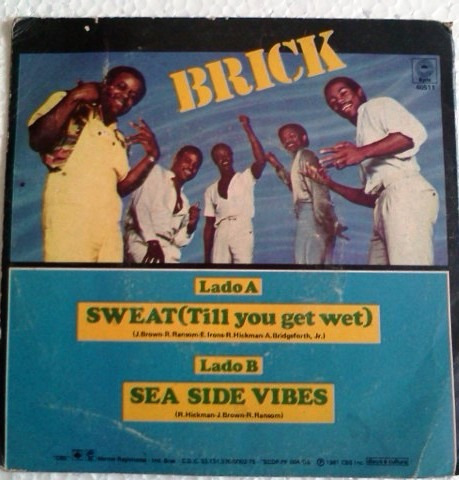 compacto brick sweat till you get wet 1981 epic