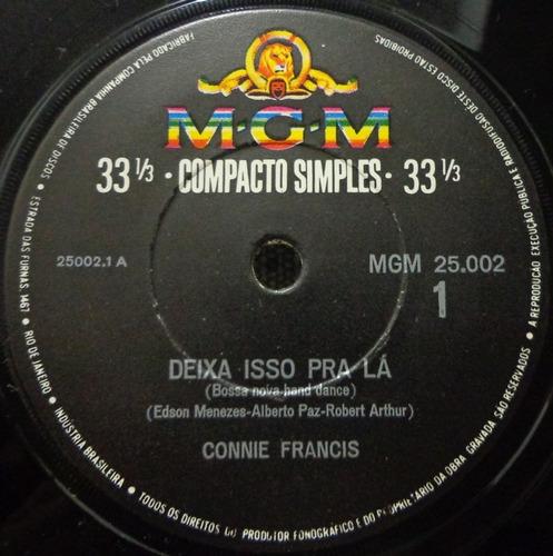 compacto-connie francis(deixa isso pra lá-more)mgm 25.002