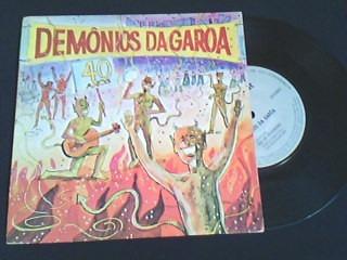 compacto de vinil - demonios da garoa - 40 anos