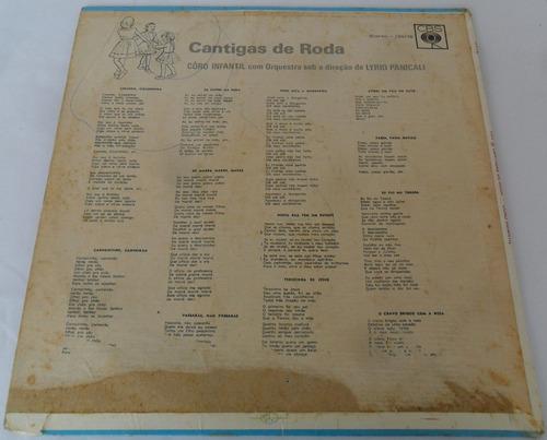 compacto disco vinil cantigas de roda 1971 gravadora cbs
