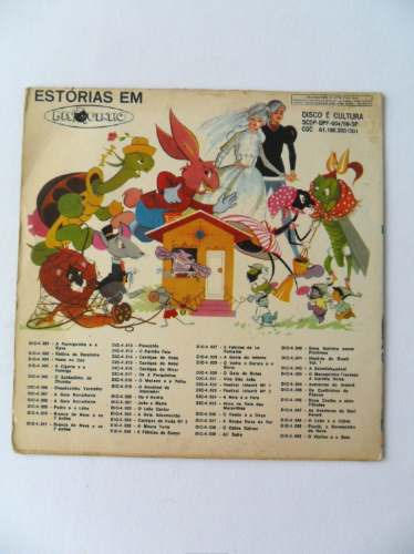 compacto disco vinil história do brasil cantada ano 1972