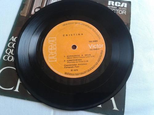 compacto duplo cristina paulinho da viola samba yvonne 1975