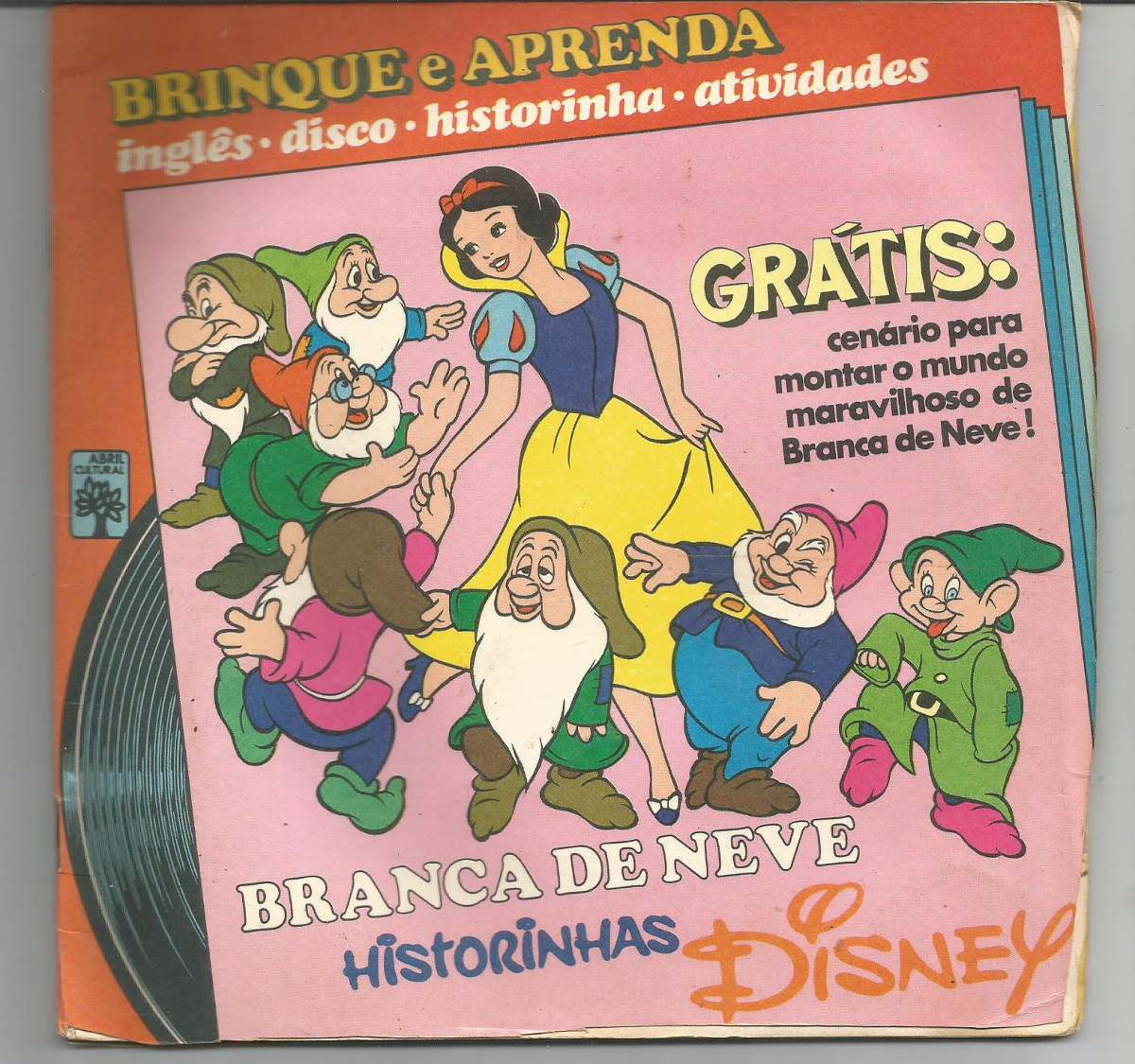 Compacto E Livro Branca De Neve Historinhas Disney R 26 00 Em