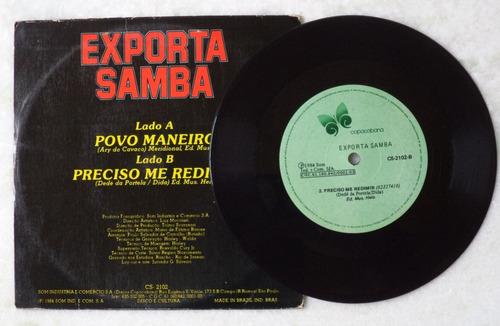 compacto exporta samba povo maneiro