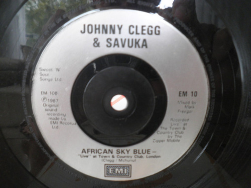compacto johnny clegg & savuka great heart importado