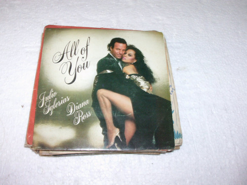 compacto julio iglesias,diana ross,1984 all of you