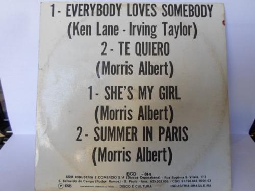 compacto morris albert / vinil / 1976 / shes my girl