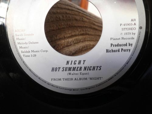 compacto night hot summers nights importado 45rpm